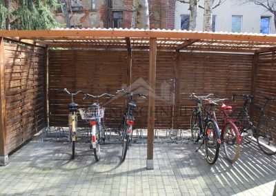 Fahrräderbereich