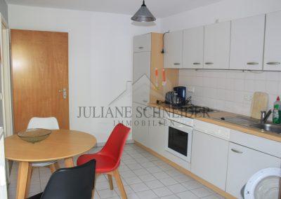 Beispiel Küche (möblierte Wohnung)
