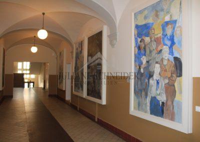 Wandbilder des Leipziger Malers Walter Münze