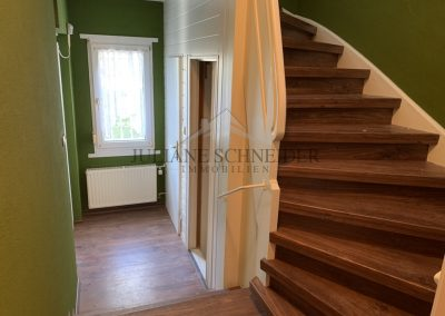 Villa - Flur, Treppenaufgang